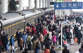 Railway trips across China increase after Spring Festival holiday