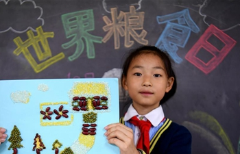 World Food Day marked at primary school in Shijiazhuang, N China's Hebe