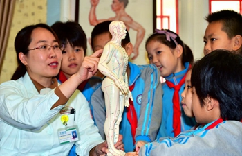 In pics: TCM education in Shijiazhuang, China's Hebei
