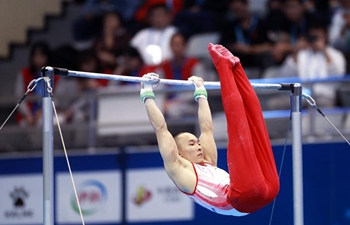 In pics: all-around final of artistic gymnastics at Military World Games