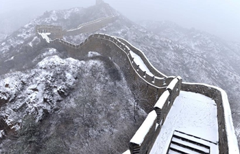 Snow view in north China's Hebei