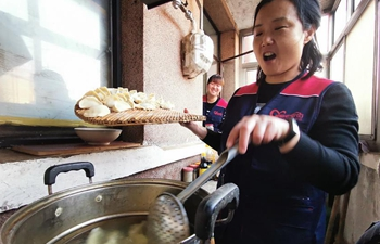 Volunteers hold events to celebrate upcomng Chinese Winter Solstice festival in Beijing