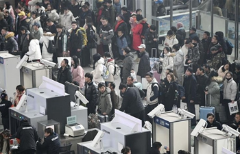 China Focus: China's mass transit in high gear as Spring Festival travel rush starts