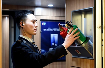 Young train crew employees make debut during Spring Festival travel rush