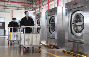 Beijing's railway laundry service imposes stricter cleaning amid epidemic
