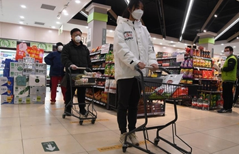 Beijing gives 10 suggestions to public as more people shop in supermarkets