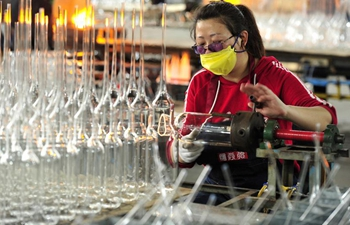 Enterprises resume production with epidemic prevention measures in N China's Hebei