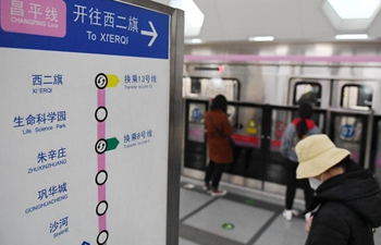 Beijing Subway pilots adding trains, reducing intervals during workday rush hours amid epidemic
