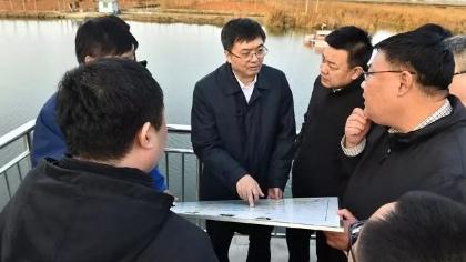 陈刚就白洋淀综合治理工作到安新县、雄县调研