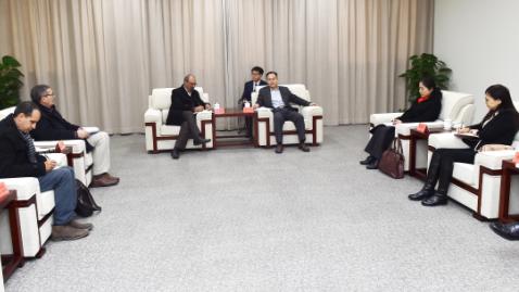 突尼斯人权联盟代表团一行访问雄安新区