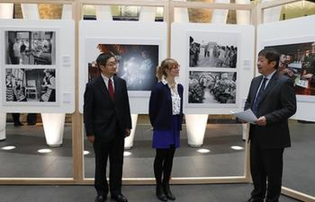Photo exhibition in London to mark 40 years of China's reform, opening up