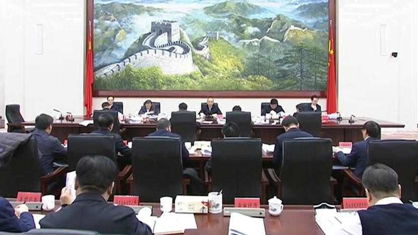 许勤主持召开省政府党组(扩大)会议