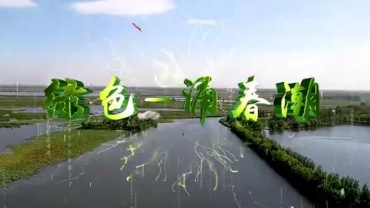 绿色——涌春潮