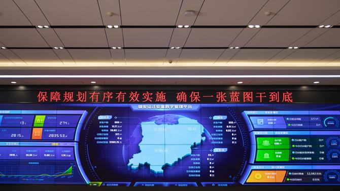 征迁安置数字管理平台——雄安阳光征迁背后的高科技