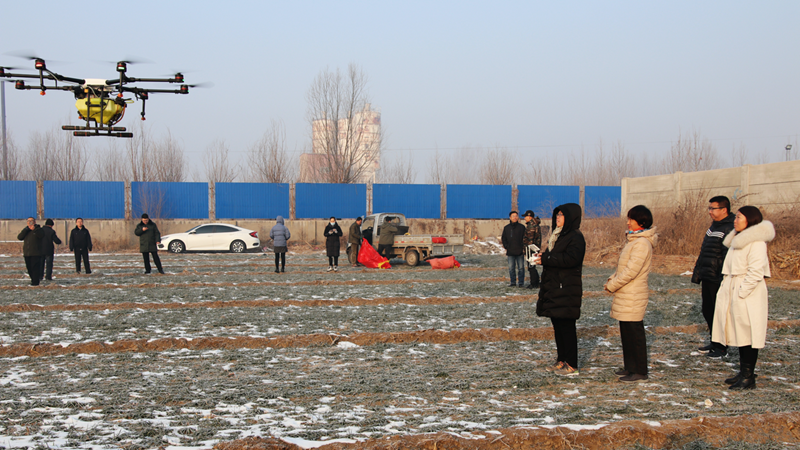 雄安开展无人机植保培训 助力发展绿色生态农业
