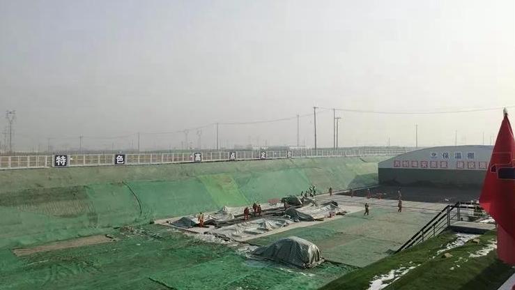 访 K1快速路:为京雄城铁河北雄安站保驾护航