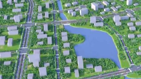 """穿湖隧道、综合管廊……雄安新区这样夯实""""千年之城""""根基"""