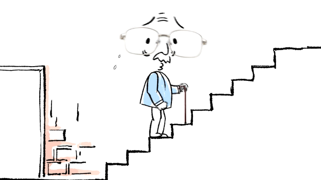 两会动漫画 | 上楼记