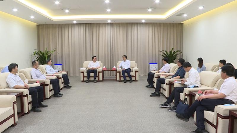 陈刚与国家林草局副局长刘东生一行举行工作座谈