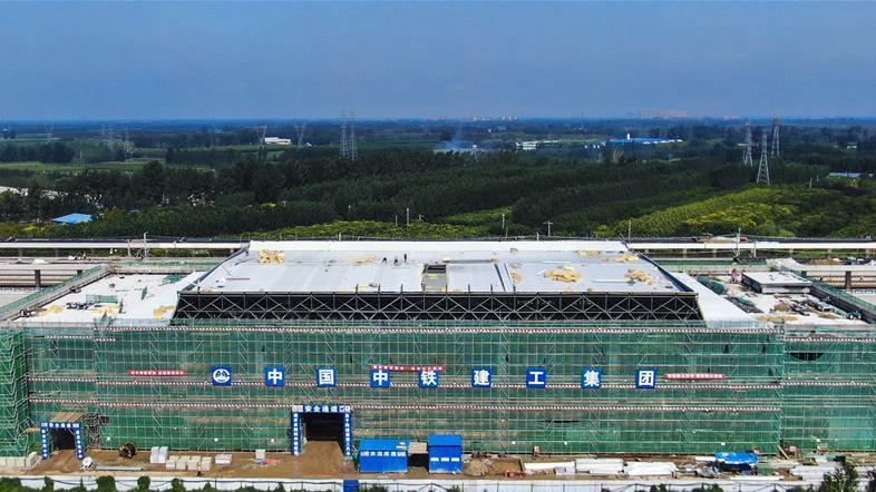 京雄城际铁路霸州北站全面转入装饰装修阶段