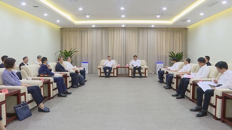 视频丨陈刚与中国银行行长王江一行举行工作座谈