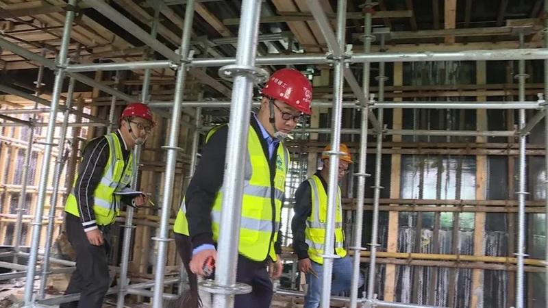 雄安新区建设者:坚守工作岗位 创造雄安质量
