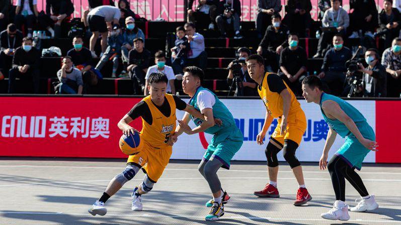今年全国三人篮球俱乐部精英赛(雄安站)开赛
