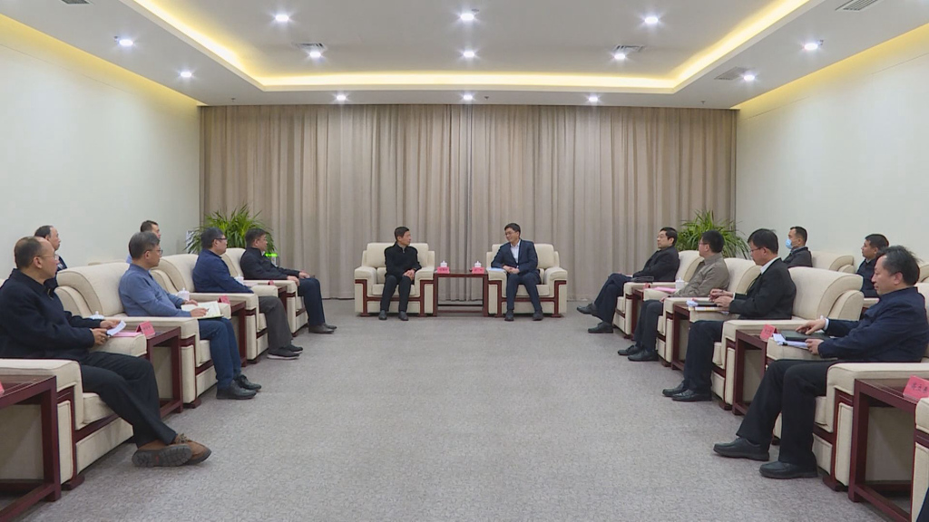 陈刚与国家卫健委卫生信息化专家组举行工作座谈
