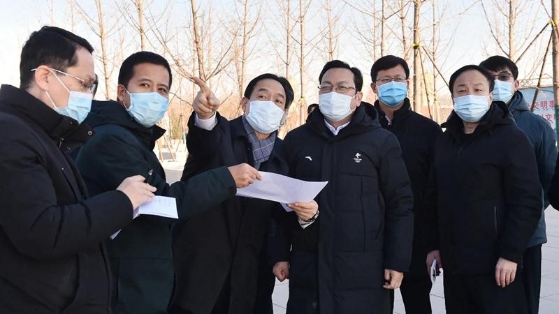 张国华深入容城县调研疫情防控和项目建设工作