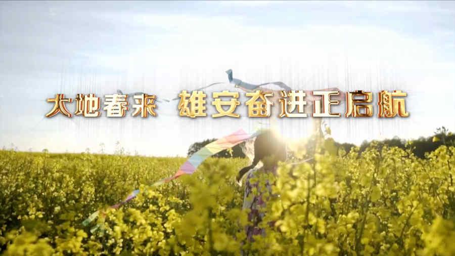 微视频丨大地春来 雄安奋进正启航