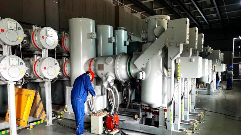 河北雄安新区首座正式变电站完成关口计量测试