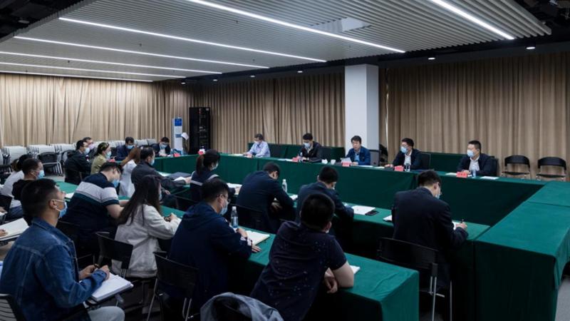 4月29日 边建国作党史学习教育专题宣讲