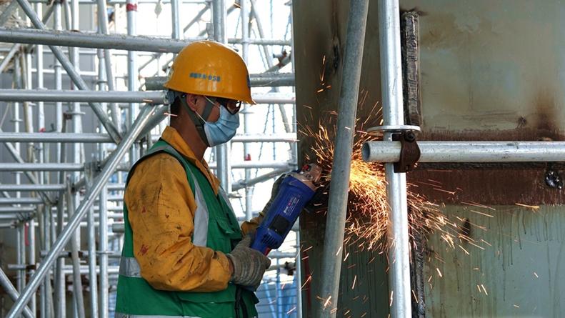 大图丨雄安商务服务中心3标段地下结构已封顶