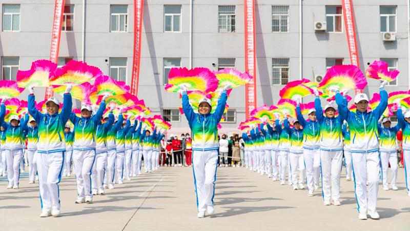 图集丨雄安新区第二届雄州梨湾广场舞大赛开赛