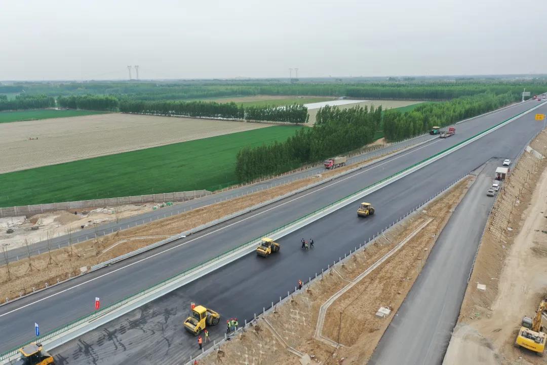 通车倒计时!京德高速(一期工程)有了新进展