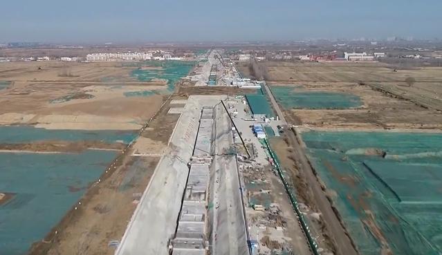 雄安新区启动区基础设施建设全面展开加快推进