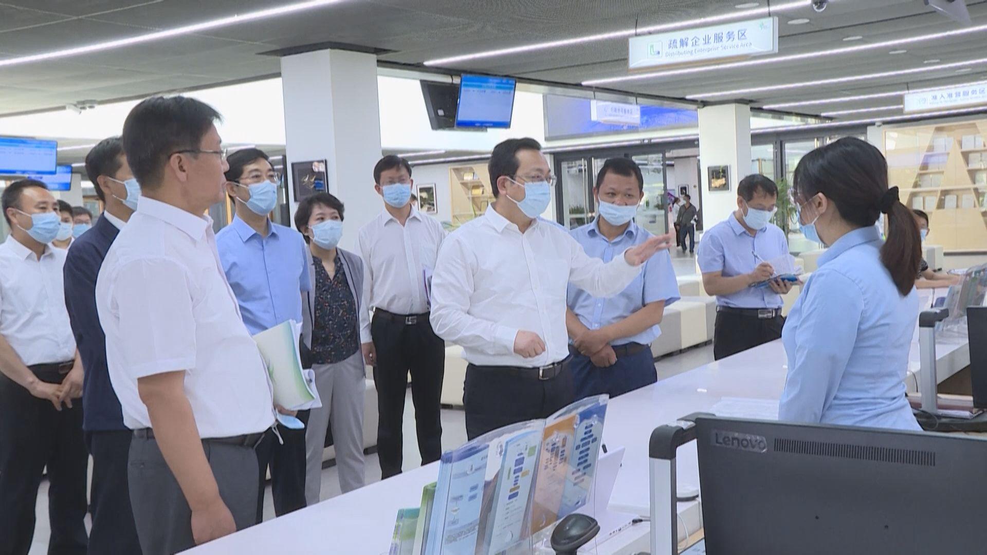 张国华到雄安新区公共服务局和政务服务中心调研