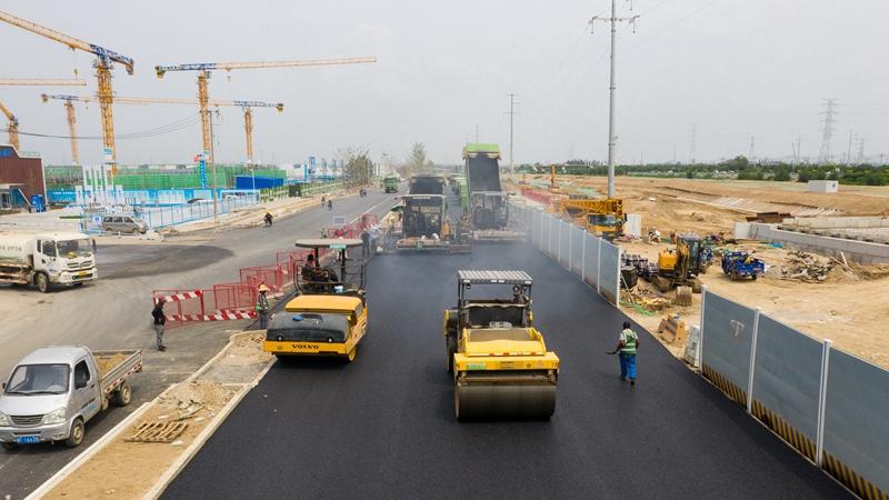 探访容东片区三级道路系统 绿色出行将成主流!