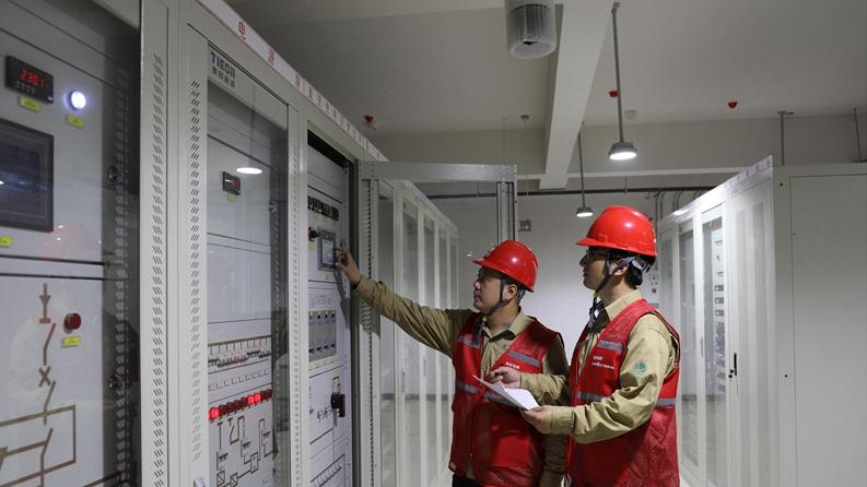 关注!雄安容东片区首批24座保供电开关站投运