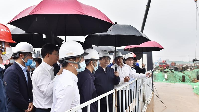 张国华调研昝岗片区、雄东片区建设工作