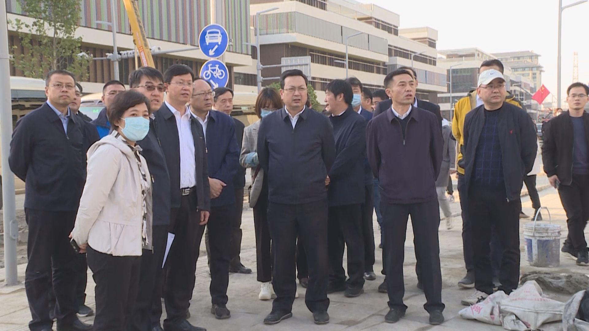 时政播报丨张国华调研容东片区重点项目建设情况