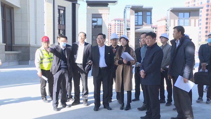 时政播报丨张国华调研雄安国际酒店项目建设进展