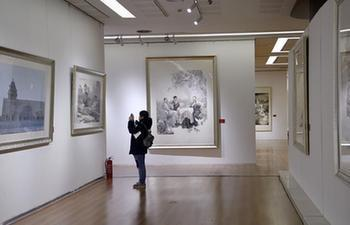 Painting exhibition about Beijing, Tianjin and Hebei held