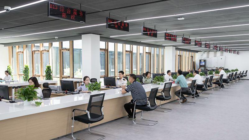 【中国雄安新闻】雄安新区政务服务中心启动运行 可办理企业登记注册