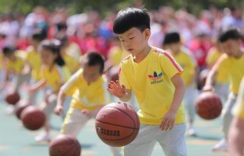 People hold activities to observe Int'l Children's Day across China