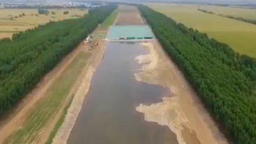 雄安新区唐河污水库治理工程启动