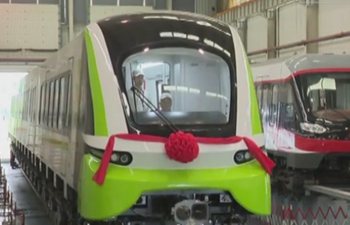 Bigger, faster and stronger! China's new maglev train rolls off production line