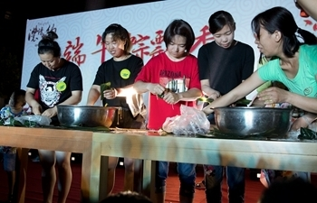 Residents make Zongzi to greet Dragon Boat Festival in Xiongan