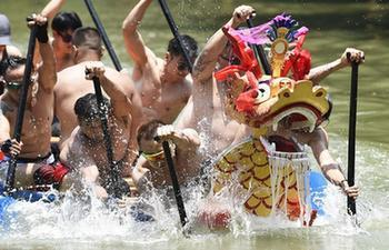 People across China enjoy three-day holiday during Duanwu Festival