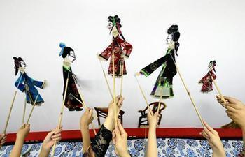 Classes about Laoting shadow puppet offered in China's Hebei